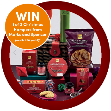 Celebrate Christmas with a Luxury Festive Hamper!